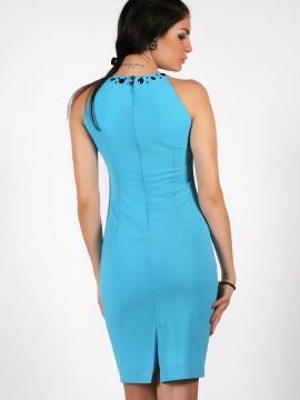 Къса рокля с цепка