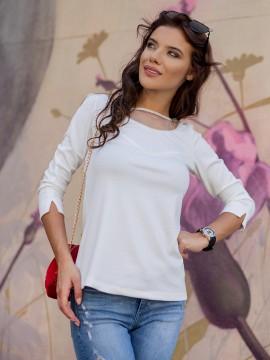 Дамска блуза с дантелен гръб