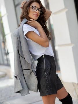 Дамски къси панталони от велур