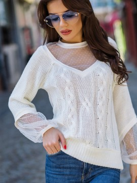 Дамска блуза-плетиво