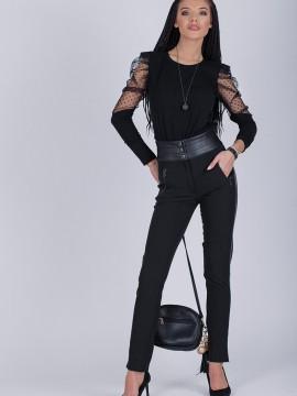 Дамски панталон с висока талия