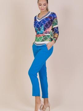Дамски син панталон