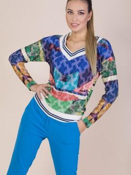 Спортно-елегантна блуза