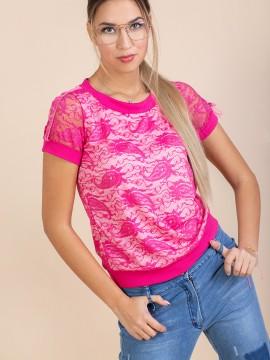 Дамска дантелена блуза