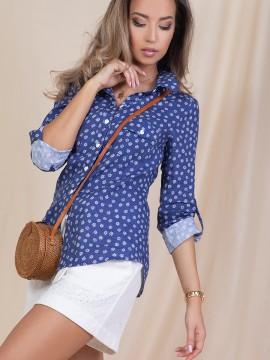 Дамска риза от лен
